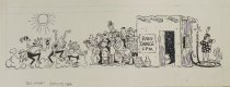 Image of [Think and Grin long strip] - Wingert, Dick, 1919-1994