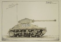 Image of Don't come knockin' if this tank's rockin' - Harville, Vic