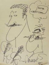 Image of [Self-caricature] - Aragones, Sergio, 1937-