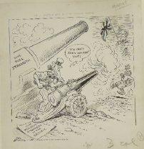 Image of We'll need a big gun to reach Tokio - Somdal, Carl, fl.1946