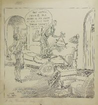 Image of But listen, Dearie, this hung in my room at college for three years! - Williams, Gaar, 1880-1935