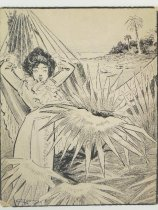 Image of woman in hammock - Morris, C.
