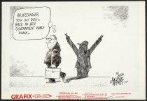Image of Ah, Kissinger, you sly dog...Back in der government vunce again... - Backderf, John, (derf) 1960-