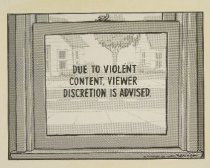 Image of Due to Violent Content... - Bennett, Clay, 1958-