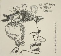 Image of Hillary Finds a Small Tangle - Boileau, Linda, 1958-
