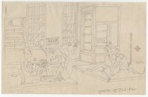 Image of [Inmates relaxing in a common room] - Tobita, Tokio, 1918-