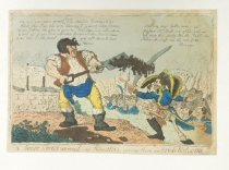 Image of The Scare Crows Arrival, or Honest Pat Giving Them an Irish Welcome - Cruikshank, Isaac, 1756-1811