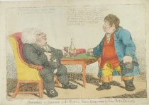 Image of Mounseer in Danger or the Rector's Hopes Confirmed by John Bull's Discovery - Williams, Charles, 1797-1830