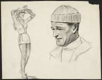 Image of [John Wayne and female] - Whitaker, John E., 1928-