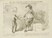 Image of The sad parting between two old friends - Magee, John L., 1844-1867