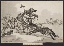 Image of Monsieur in England  - Wigstead, Henry, 1745?-1800