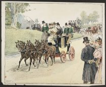 Image of [Carriage parade] - Keller, Arthur Ignatius, 1866-1924