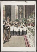 Image of [Boys' choir in church] - Keller, Arthur Ignatius, 1866-1924