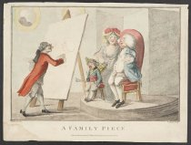 Image of A Family Piece - Bunbury, Henry William, 1750-1811