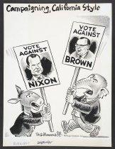 Image of Campaigning, California Style  - Manning, Reginald, 1905-1986