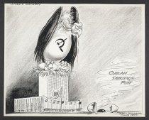 Image of Cuban sabotage plot - McClanahan, Bill, 1907-1981