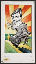 Image of [Man with briefcase] - Vanderbeek, Donald William, 1949-2014