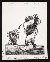 Image of [Golfing on the moon] - Vanderbeek, Donald William, 1949-2014
