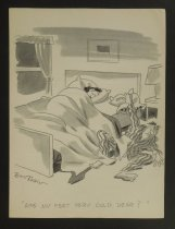 Image of Are my feet very cold, dear? - Tobin, Don, 1916-