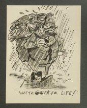 Image of Watta @*!*?* Life! - Wyma, Peter, fl.1953