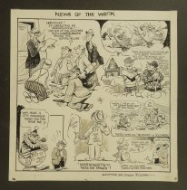 Image of [4 'News of the week' panels] - Banx, Al, 1900-1967