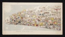 Image of Passing Events or The Tail of the Comet 1853 - Cruikshank, George, 1792-1878