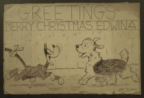Image of Greetings Merry Christmas Edwina - Felden, Al