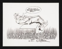 Image of Congratulations Sparky from us all - Eisner, Will, 1917-2005