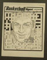 Image of Basketball digest crossword Bill Bradley - Bender, Jack, 1931-