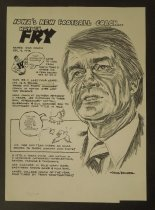 Image of Iowa's new football coach... Hayden Fry - Bender, Jack, 1931-