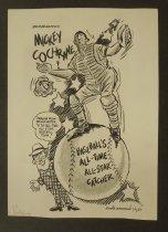 Image of Bridgewater's Mickey Cochrane!  - Germano, Eddie, 1924-