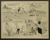 Image of Sportsmen and sports fans are invited to perpetuate the work of the Action '70 anti-pollution committee! - Harsh, Lew, 1911-1982