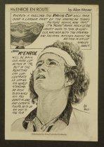 Image of McEnroe en route - Maver, Alan, d.1984