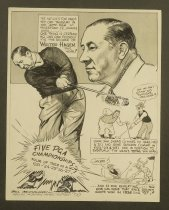 Image of The nation's top pros tee off Thursday in the 42nd PGA at Firestone CC, Akron, Ohio - McClanahan, Bill, 1907-1981