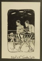 Image of [Muhammad Ali, Joe Frazier, and Uncle Sam] - Murphy, Bob