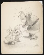 """Image of Aw, I saw him first!""""  - Sykes, Charles Henry (Bill), 1882-1942"""