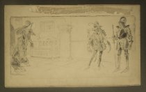 Image of [Medieval lady, courtier and knight in armor] - Crawford, Will, 1869-1944