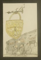 Image of Locke-Ober [exterior] - Hogarth, Paul, 1917-2001