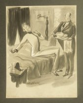 Image of No Tompkins, I'll shave myself this morning - I need the exercise! - Shellhase, George, 1895-1988