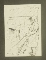 Image of [14 sketches and drawings] - Shellhase, George, 1895-1988