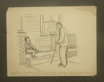 Image of [56 undated roughs, sketches and gag cartoons] - Wise, Fred