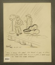 """Image of """"Yeah, I know it's open! I'm testin' it out..."""" - Coe, Roland, 1906-1954"""