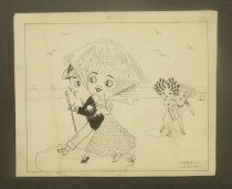 Image of [Couple walking on a beach] - Lewis, Harry