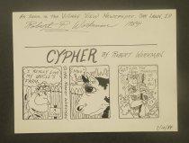 Image of Cypher - Workman, Robert P., 1961-