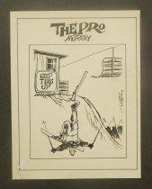 "Image of [Two ""The Pro"" cartoons] - Murray, Joe"