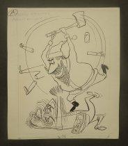 Image of [6 cartoon profiles] - Partch, Virgil, 1916-1984