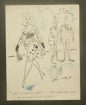 "Image of ""Wait a minute, Charlie - that handbag looks like a black-jack to me..."" - Wenzel, Bill, 1918-1987"
