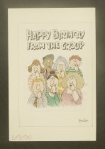 Image of [Artwork for 3 Recycled Paper Greetings, greeting cards] - Wasserman, Shelly