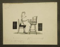 Image of [3 mother and baby cartoons] - Smith, George