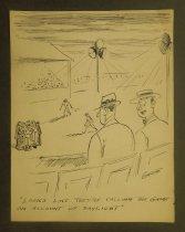 Image of [7 baseball, football and boxing cartoons] - Garde, Chester L.